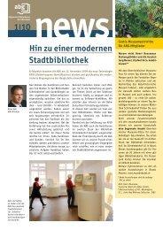 Ausgabe 01/10 - GGG Stadtbibliothek Basel
