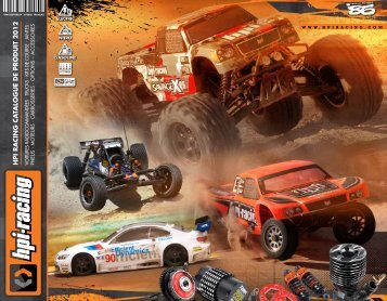 catalogue HPI - HPI Racing