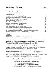 Mitteilungen 2011 - Schwarzerden