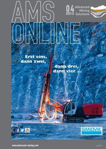 Bissendorf, November 2013 - Advanced Mining Solutions