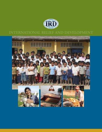2004 - International Relief & Development