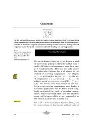 Covering the integers, Vol.17,2012. - Indian Statistical Institute
