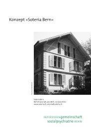 Konzept «Soteria Bern»