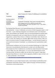 Endbericht 2008 - Kmueller.sbg.ac.at - Universität Salzburg