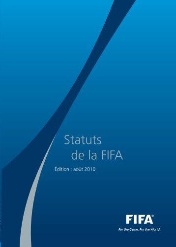 Statuts de la FIFA (2010) - FIFA.com