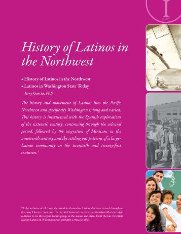 History of Latinos in the Northwest