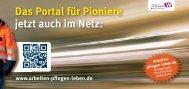 Das Portal für Pioniere jetzt auch im Netz: www ... - Jobcenter EN