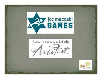 2013 participant information - JCC of Mid-Westchester