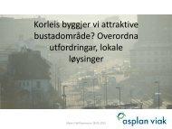 Korleis byggjer vi attraktive bustadområde ... - Fjell kommune