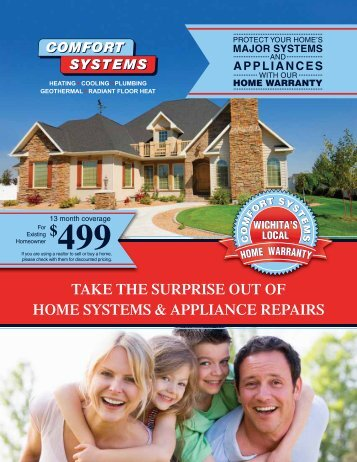 TAKE THE SURPRISE OUT OF HOME SYSTEMS ... - Comfort Systems