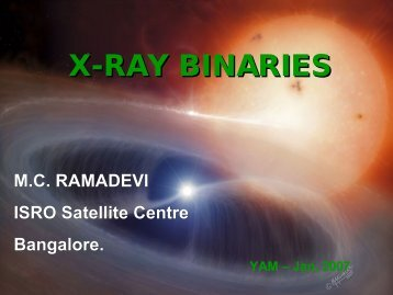 X-ray Binaries - An Overview