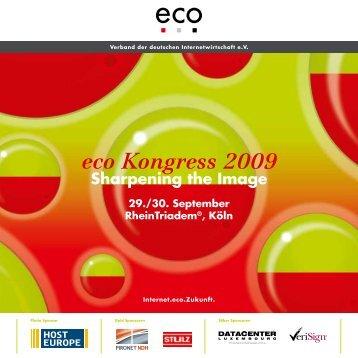 Eco-Kongress 2009 Programm (1,25 MB) - Stulz GmbH