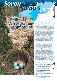 Sovon nieuws 02_05.pdf - SOVON Vogelonderzoek Nederland