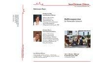Einführungsseminar - Wohnprojekte Portal