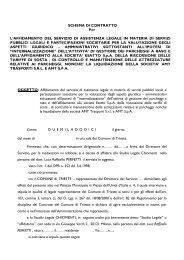 schema contratto - Rete Civica di Trieste