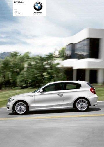The BMW 1 Series 118d - Sunriseleasing.co.uk