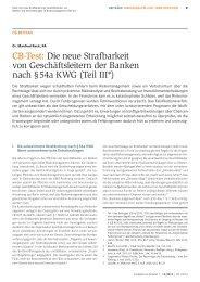 Aufsatz von Rechtsanwalt und Notar Dr. Manfred Rack im ...