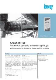 Knauf TS 100