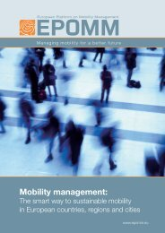Mobility management: - KpVV