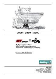 DPX MAGNUM 36-44 m - Sulky