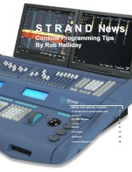 Console Tips.pub - The Strand Archive