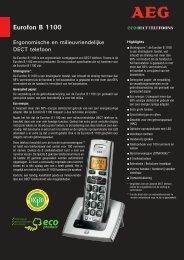 Eurofon B 1100 - Tiptel