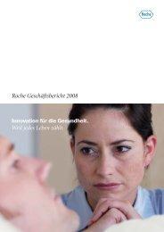 Roche Geschäftsbericht 2008