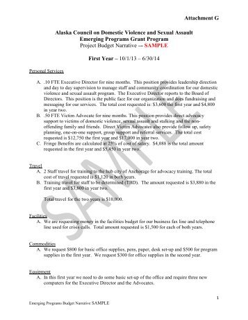 sample budget narrative template - budget narrative worksheet for cia rfa arkansas