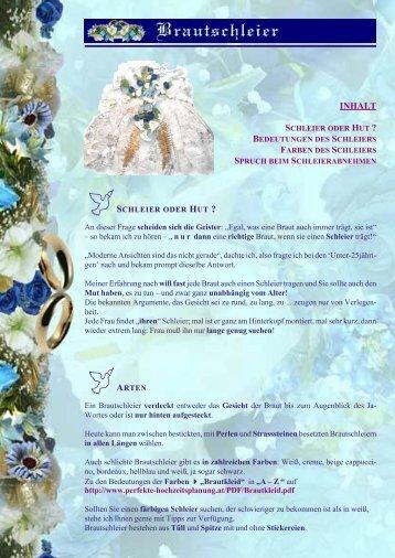 Brautschleier - Perfekte Hochzeitsplanung