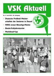 • Deutsche Prellball Meister- schaften der Senioren ... - VSK Osterholz