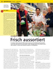 Frisch aussortiert - Bundesverband Deutsche Tafel e.V.