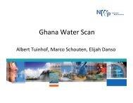 Presentation Ghana - Partners voor Water