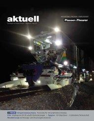 PDF herunterladen - Plasser & Theurer