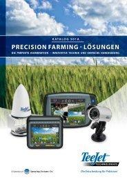 Katalog 501a PRECISION FARMING - LÖSUNGEN - TeeJet