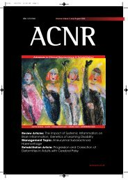 Review Articles: The Impact of Systemic Inflammation on Brain ...