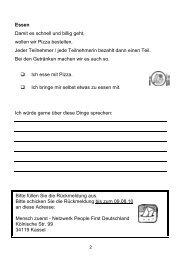 Anmelde-Blatt - Netzwerk People First Deutschland eV