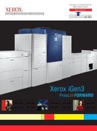 Brochure - iGen3 110 and iGen3 90 Digital Production ... - Xerox