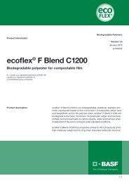 ecoflex® F Blend C1200 - Product data sheet - BASF Plastics Portal