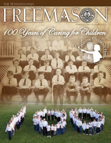 100 Years of Caring for Children - Grand Lodge of Pennsylvania