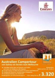 Australien Campertour - Travel & More