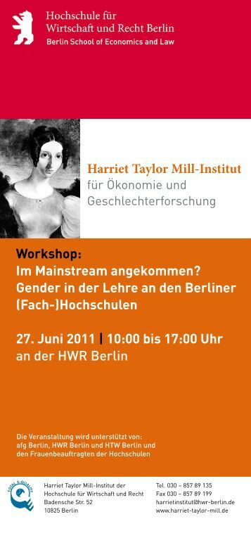 Programm - TU Berlin
