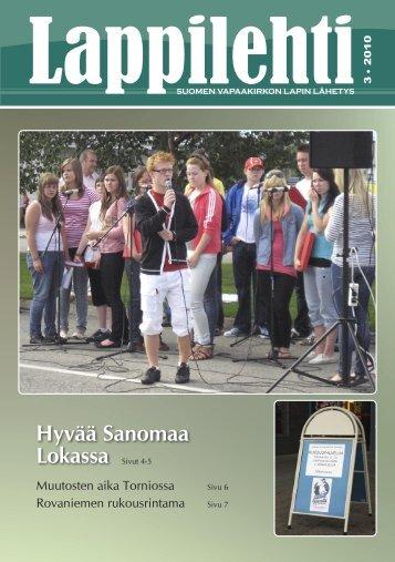 Lappilehti 3/2010 - Suomen Vapaakirkko