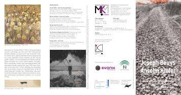 Joseph Beuys Anselm Kiefer - Stiftung für Kunst und Kultur eV