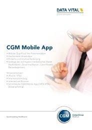 CGM Mobile App - Data Vital