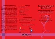 Konferenzprogramm als Flyer (PDF)