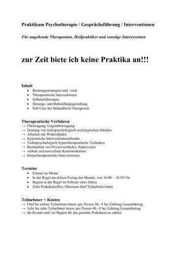 Praktikumsbericht Gilt F