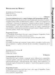 programmi [pdf] - Università del Piemonte Orientale