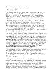 Izborni sistem i zaštita nacionalnih manjina Miroslav Samardžić ...