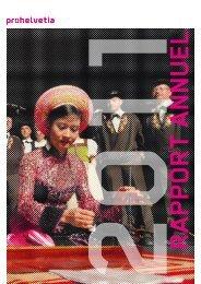Rapport annuel 2011 (PDF) - Pro Helvetia