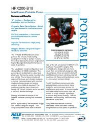 product literature - Fire Fighting Equipment